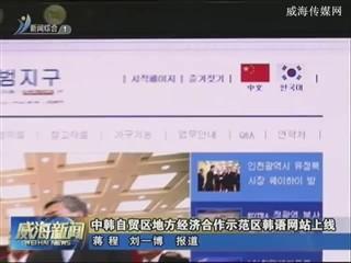 中韩自贸区地方经济合作示范区韩语网站上线