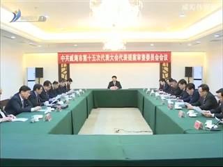 市第十五次党代会代表提案审查委员会会议举行