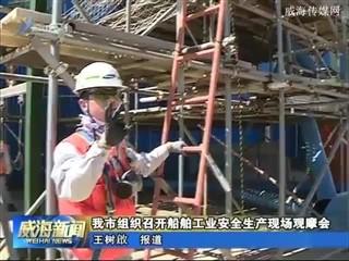 我市组织召开船舶工业安全生产现场观摩会