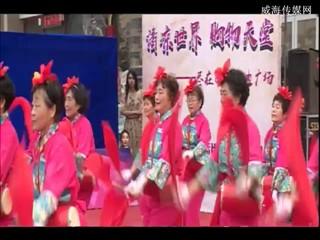 百合腰鼓舞蹈队--凤凰展翅