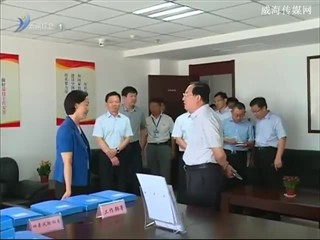 傅广照到文登区督导检查政法综治工作