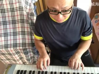白雁冰自弹自唱【绒花】20171227
