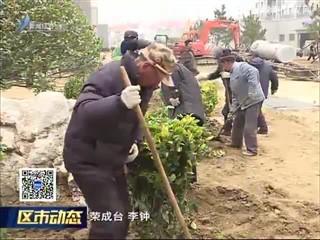 荣成:6个城中村改造项目绿化工作全面推开