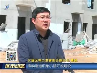 文登区埠口港:抓项目建设促镇域经济新提升