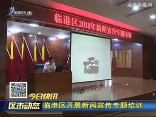 临港区开展新闻宣传专题培训