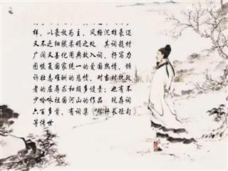 0518中华经典-诗词赏析-念奴娇·书东流村壁