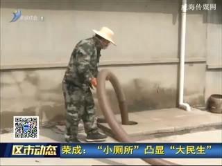 """荣成:""""小厕所""""凸显""""大民生"""""""