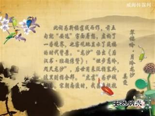 0628中华经典-诗词赏析-翠楼吟·月冷龙沙