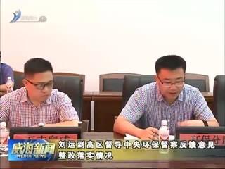 刘运到高区督导中央环保督察反馈意见整改落实情况