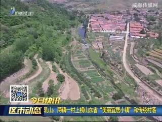"""乳山:两镇一村上榜山东省""""美丽宜居小镇""""和传统村落"""