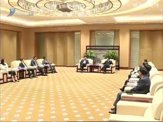 张海波会见参加首届儒商大会的重要嘉宾