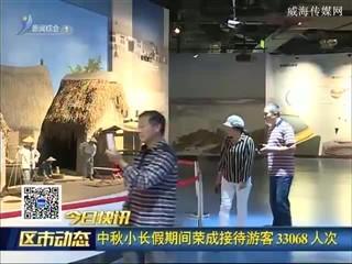 中秋小长假期间荣成接待游客33068人次