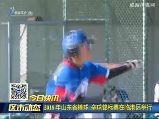 2018年山东省棒球 垒球锦标赛在临港区举行