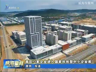 高区94家企业进入国家科技型中小企业库