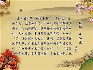 0922中华经典-诗词赏析-花犯·水仙花