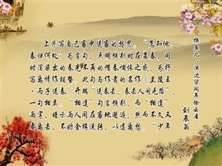 1001中华经典-诗词赏析-摸鱼儿·酒边留同年徐云屋