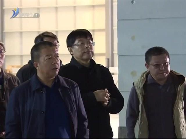 市政协组织住威省政协委员到临港区视察