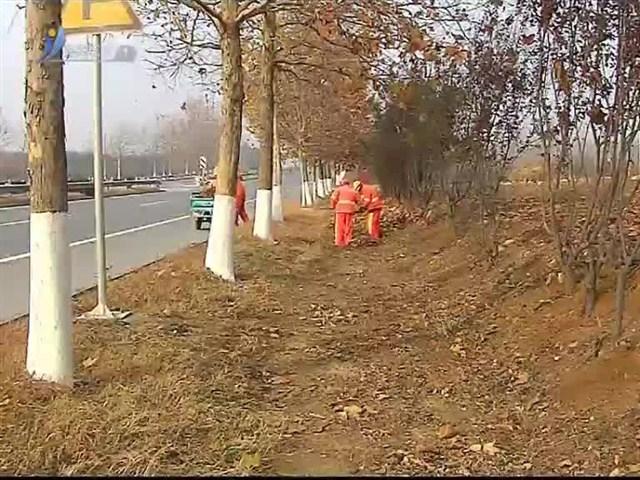 乳山扎实做好冬季干线公路养护工作