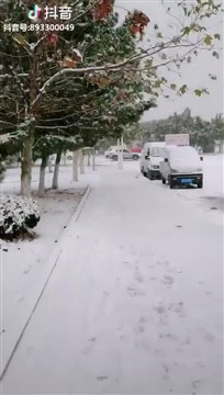 威海下雪啦!