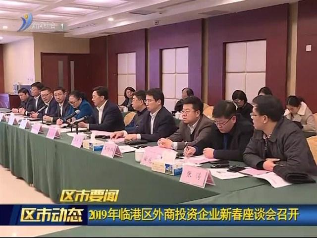 2019年临港区外商投资企业新春座谈会召开